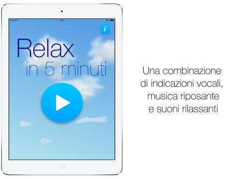 App per praticare la meditazione relax in 5 minuti