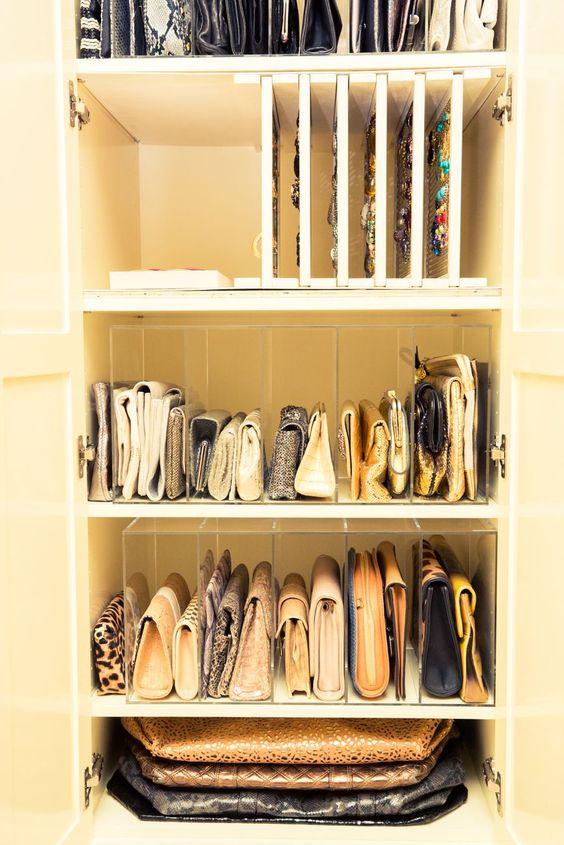 Come Sistemare I Jeans Nell Armadio.Tutte Le Dritte Per Tenere In Ordine Le Borse Natashasway