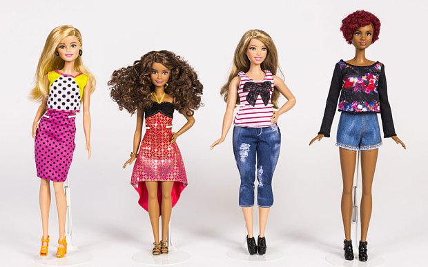 Donna curvy Barbie