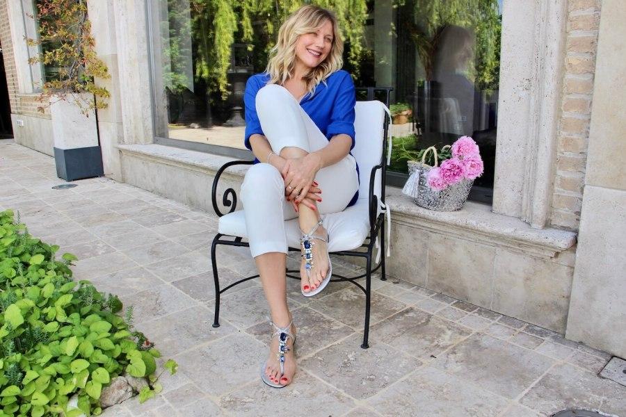 Обувь без каблуков на лето, сандалии и Наташа Стефаненко