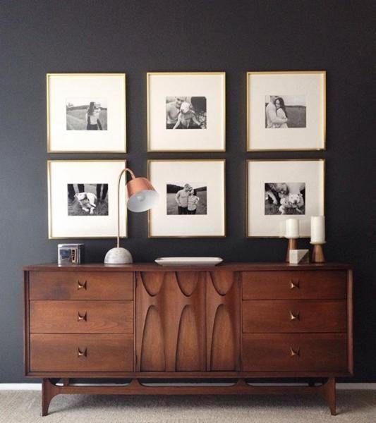 Как декорировать дом фотографиями,cb2