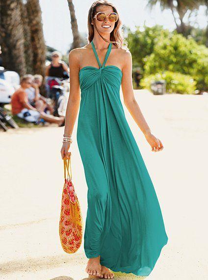 Come vestirsi per la spiaggia abito lungo