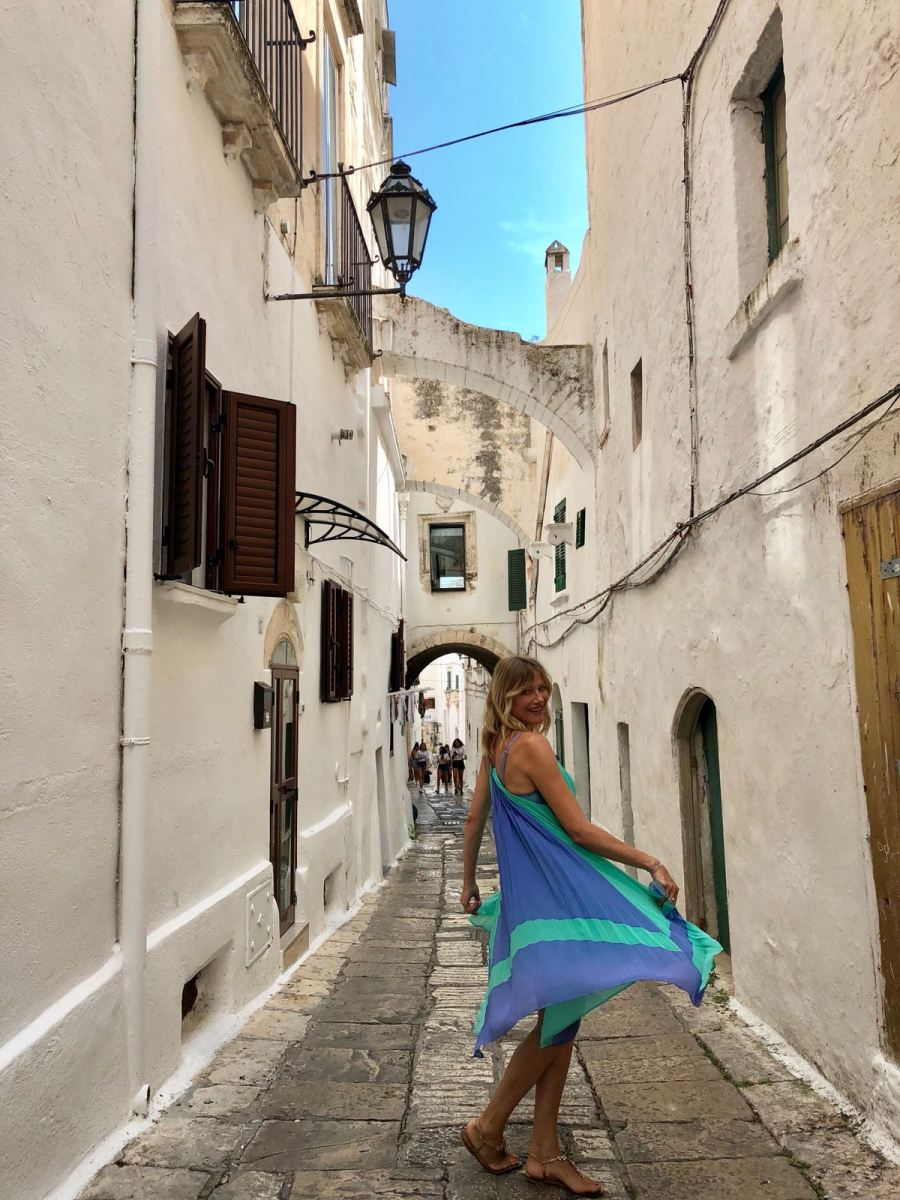 fuga di fine estate in Puglia Ntasha Stefanenko ostuni 1