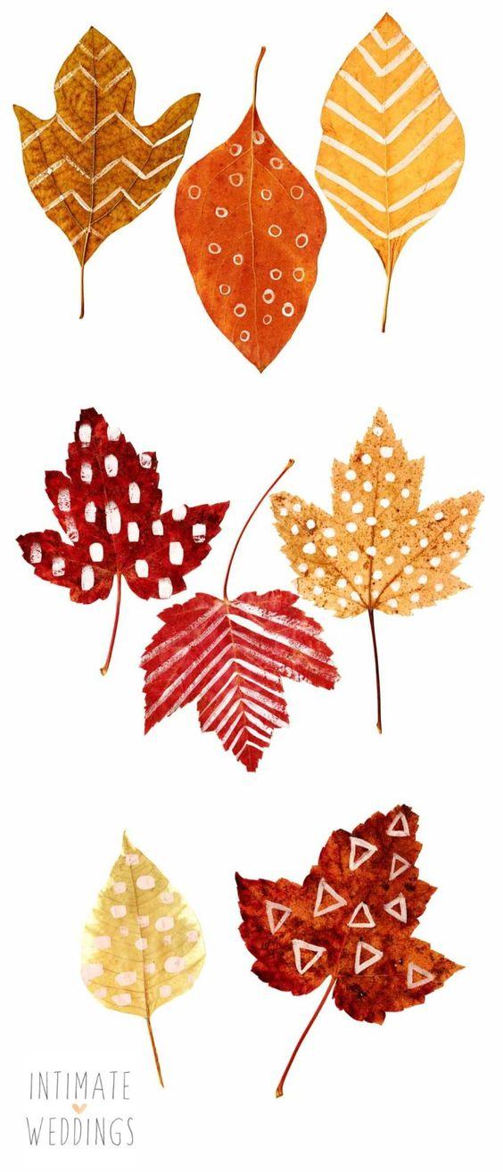 decorare la casa in autunno 9 idee foglie colorate
