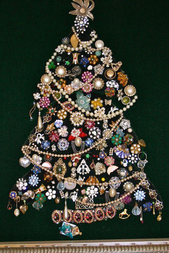 Come fare un albero di Natale fuori dal comune pinterest 2