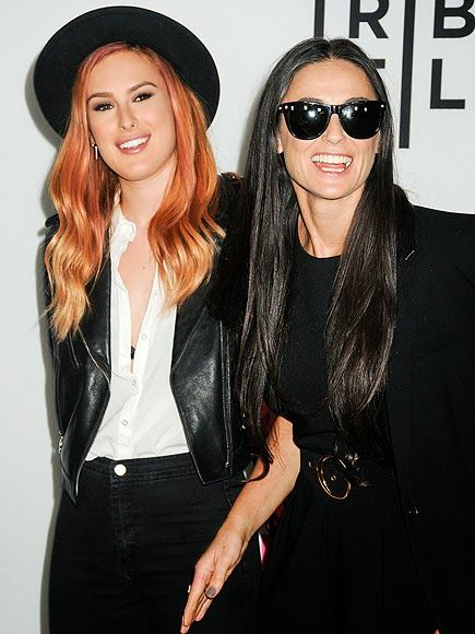 Fashion madre e figlia demi moore