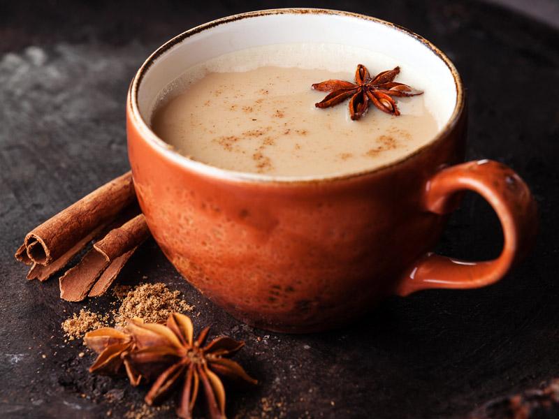 Необычные рецепты чая, восточный