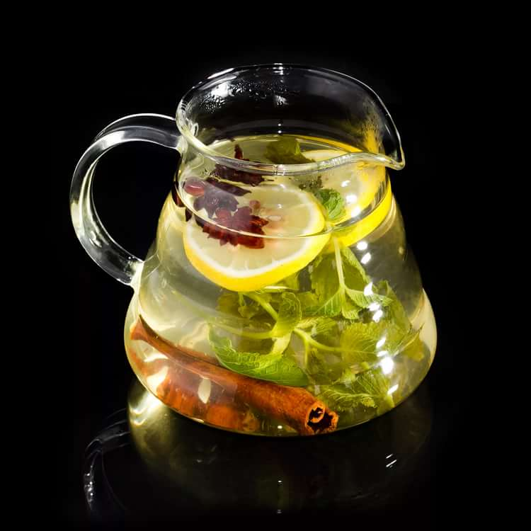 Необычные рецепты чая, зеленый