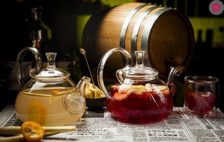Необычные рецепты чая, ягодный