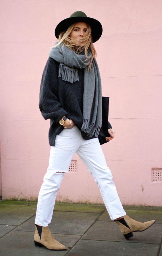come indossare i jeans bianchi in inverno jessicagordonryan.com