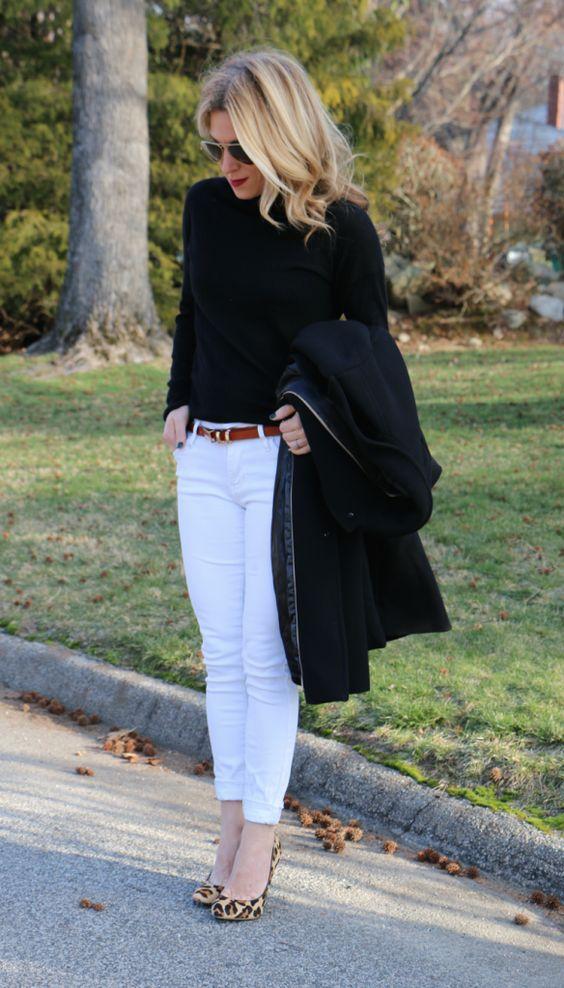 come indossare i jeans bianchi in inverno momgenerations.com