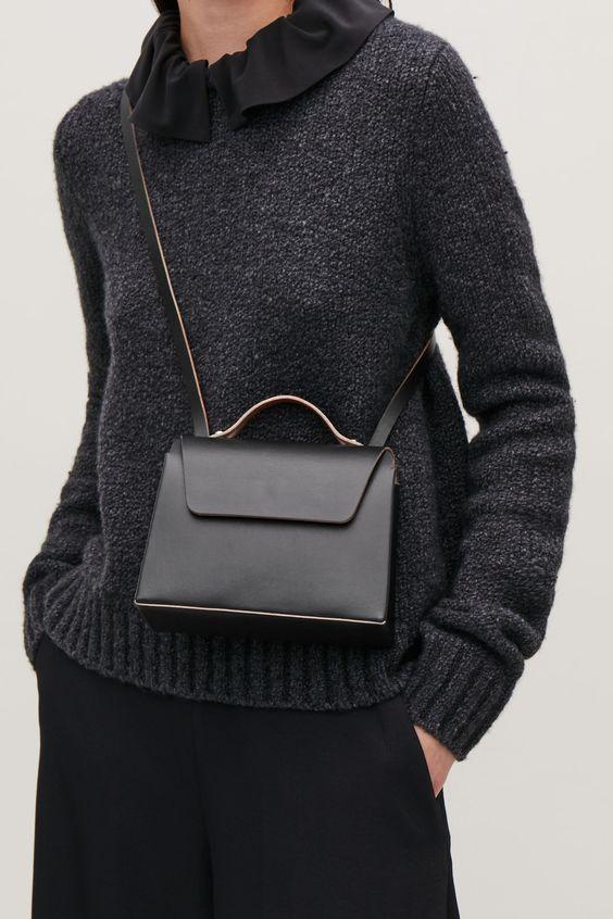 Как одеваться девушкам невысокого роста, небольшие сумки
