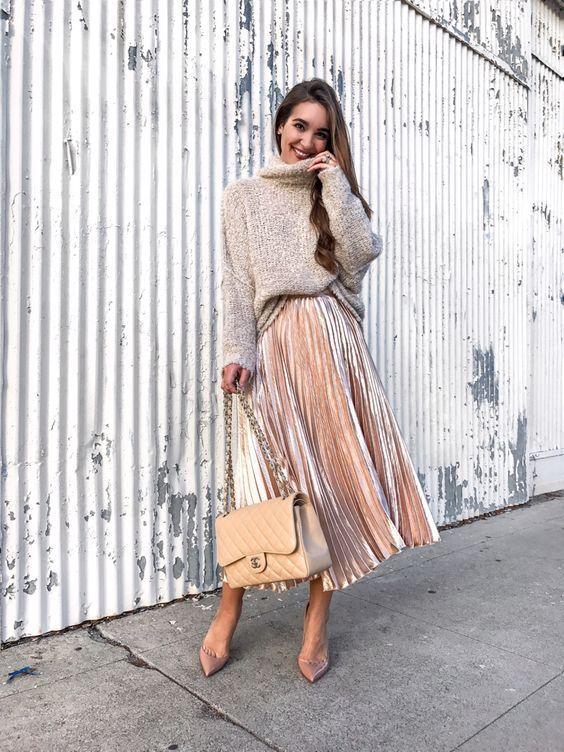 Как одеваться девушкам невысокого роста, юбки