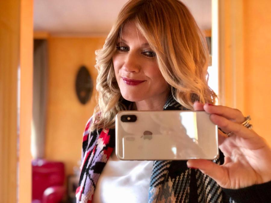 selfie e vanita Natasha Stefanenko