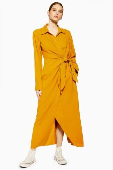 wrap dress topshop 1