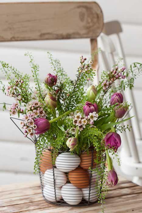 come decorare la casa a Pasqua ahbsessed.com