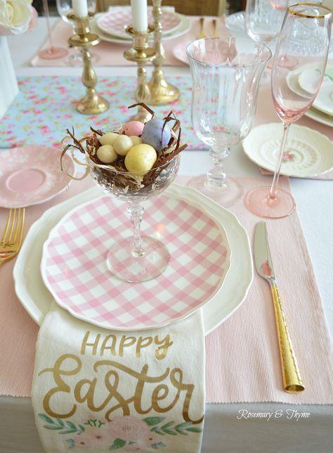 come decorare la casa a Pasqua rosemary-thyme.blogspot.com