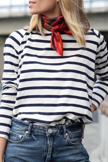 10 +1 modi di indossare la T shirt a righe x 10 +1 modi di indossare la T shirt a righe
