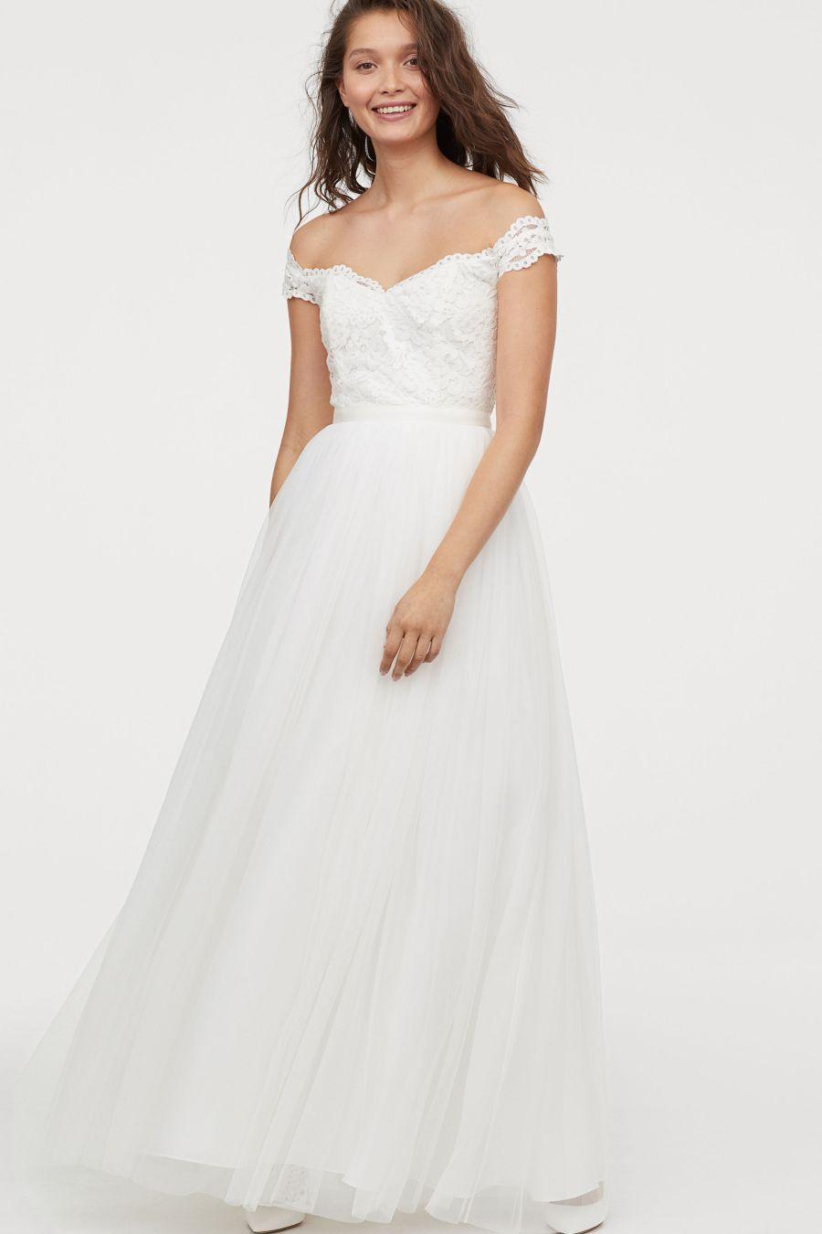 abiti da sposa a meno di 250 euro H&M 2