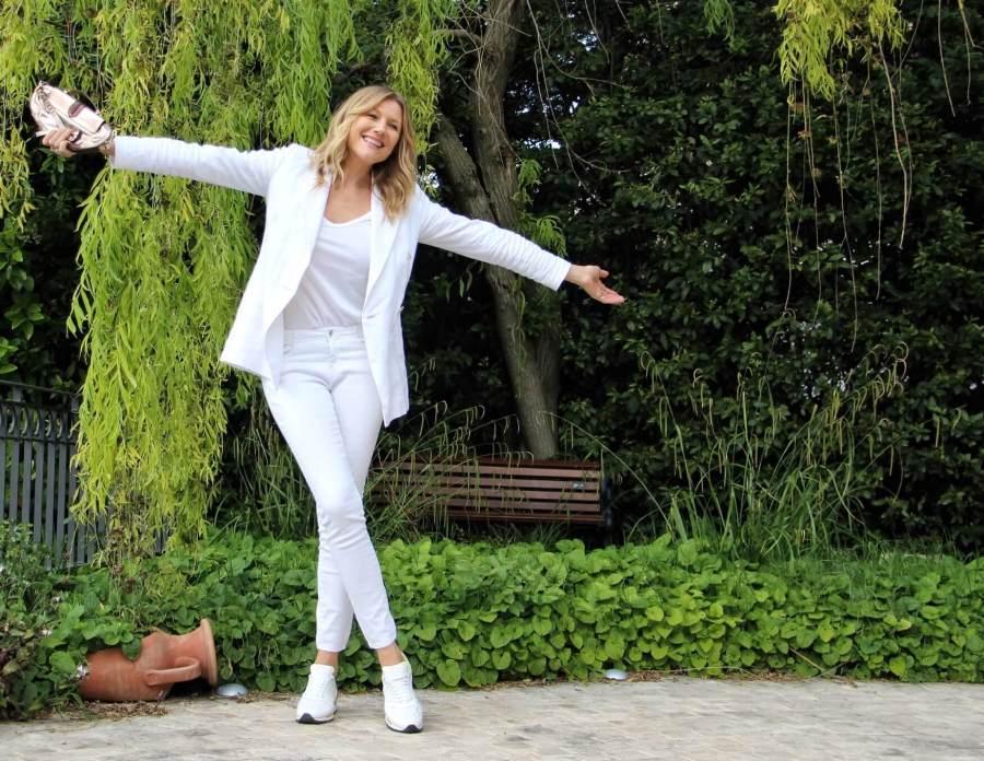 come vestire minimal chic natasha stefanenko