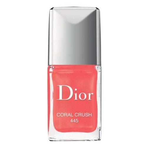 Коралловый лак от Dior