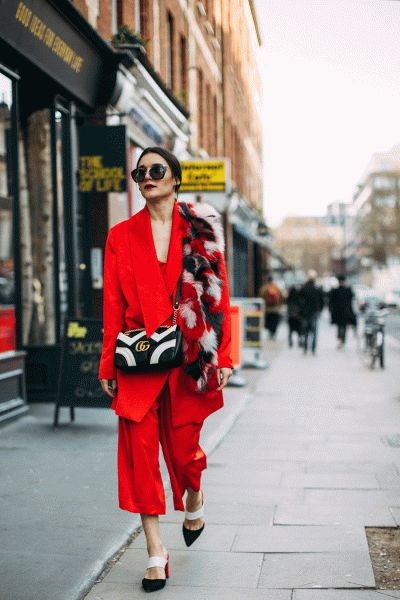 Come trasformare gli outfit dell'estate in look d'autunno Tailleur colore