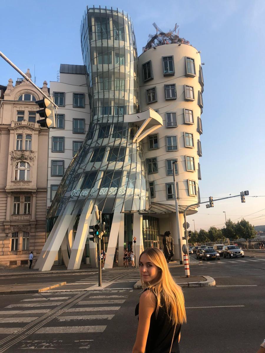 6 удивительных мест в Праге, Танцующий дом