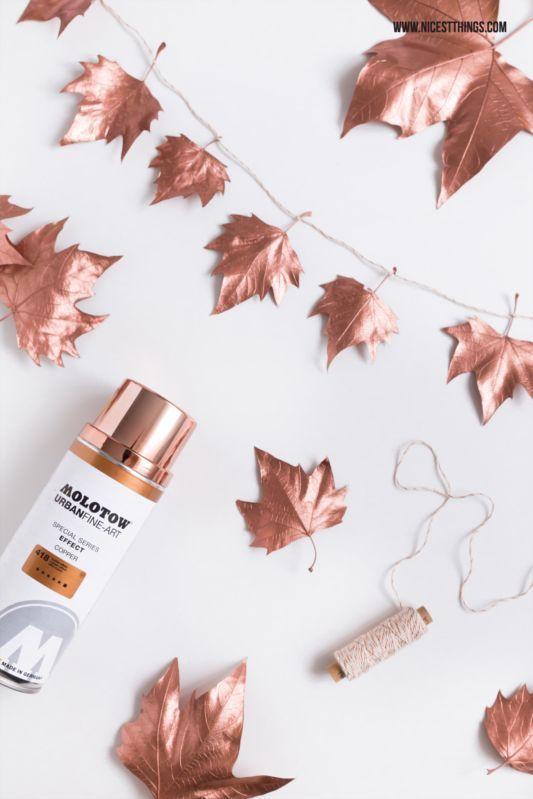 idee per Novembre foglie