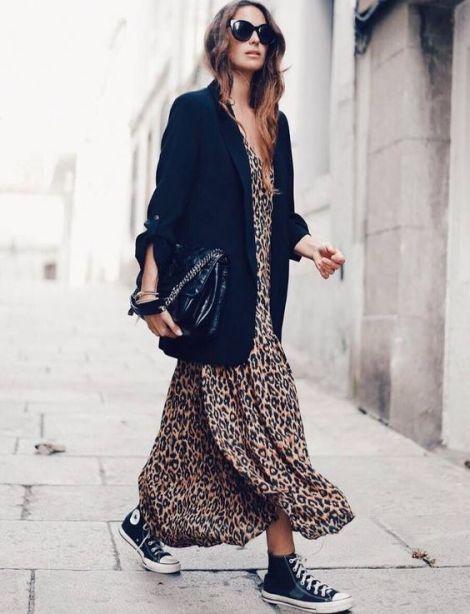 Sei regole d'oro per portare il maculato in modo chic abito
