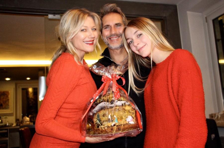 Новогодние праздники всей семьёй, Наташа Стефаненко и семья