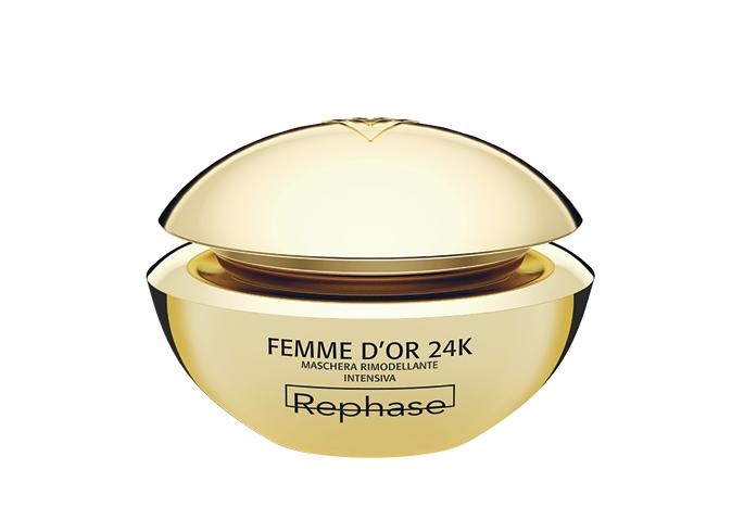 Prodotti beauty anti-invecchiamento Rephase maschera oro