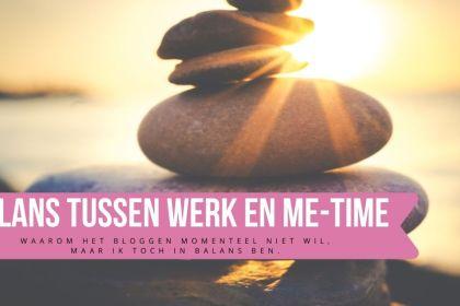 balans werk en me-time