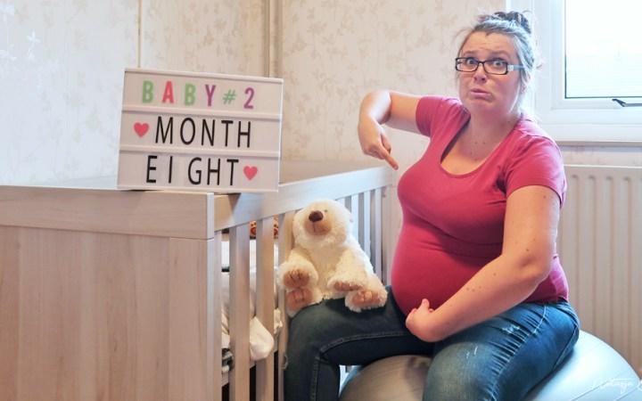 baby 2 acht maanden zwanger