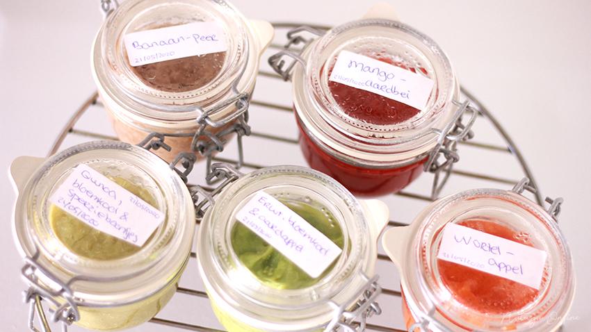 fruithapjes en groentehapjes maken