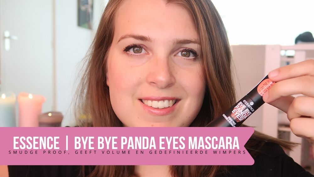 Essence bye bye panda eyes mascara review