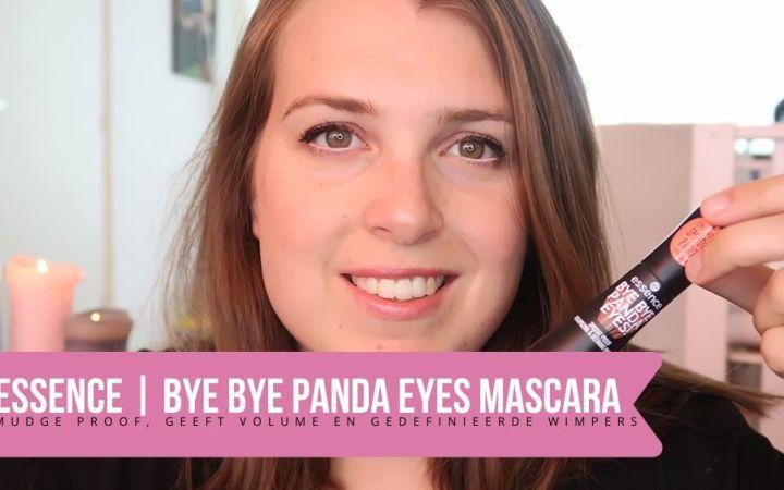 Essence bye bye panda eyes mascara review