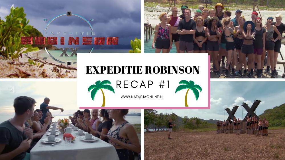expeditie robinson 2019 aflevering 1