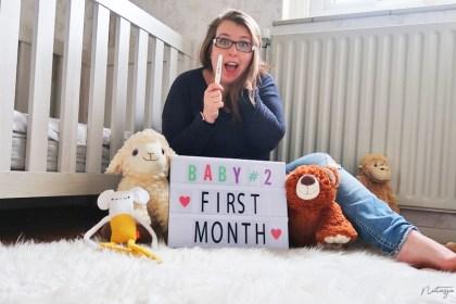 zwanger maand 1