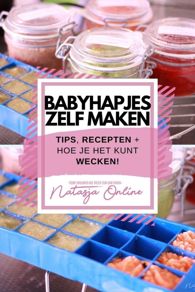 Hoe zelf babyhapjes maken, tips, recepten en bewaren