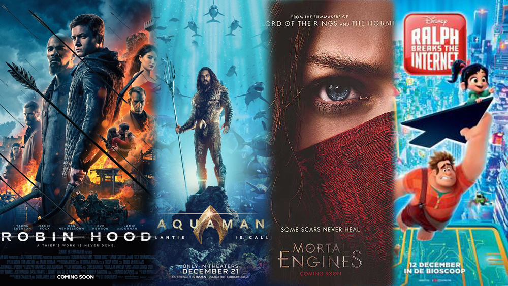 MOVIES | Robin Hood, Aquaman, Mortal Engines & Ralph Breaks The Internet