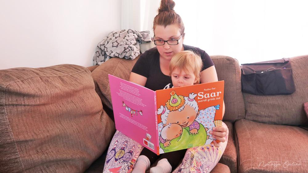 Saar wordt grote zus prentenboek