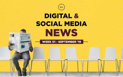 Digital & Social Media News: Week 1, September 2019