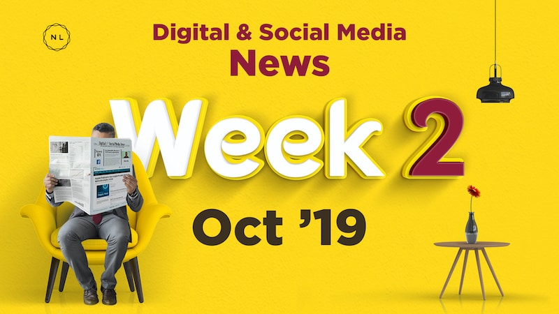 Digital and Social Media News for Nonprofit Church Ministry - October 2019, Week 2