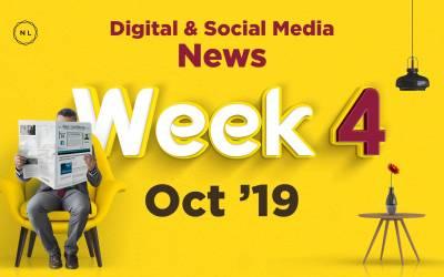 [Week 4, Oct 19] Digital & Social Media News for Nonprofits & Churches