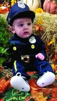 Ezra Cole, 5 months, celebrated his first Halloween. His parents are Nicholas ad Rebekah Cole.