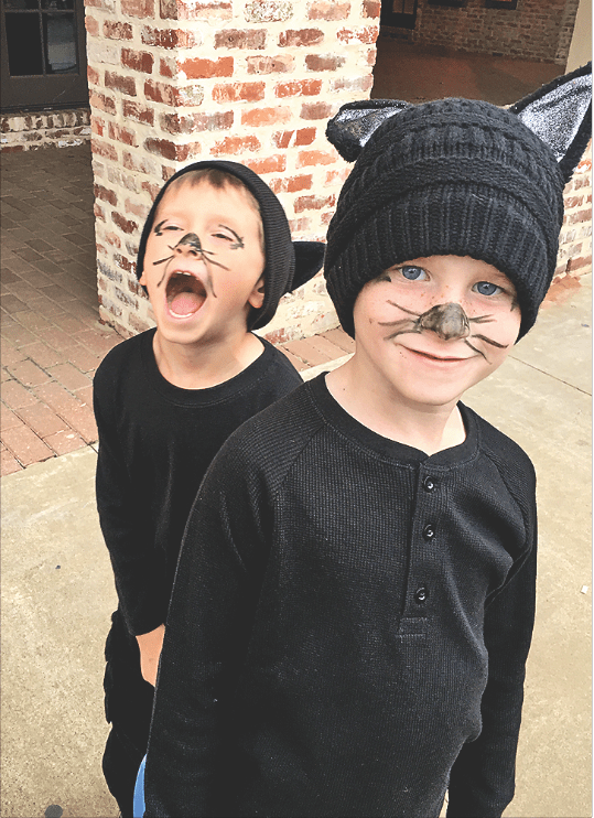 "Jericho Nelson and Nile Nelson were ""cat burglars stealing your heart."""