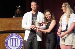 Justin Rhodes and Abigail Reynolds won the People's Choice Award.