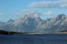 grand teton and lake