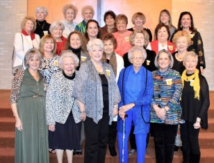 Chapter AU On first row from left are Betti Alleman, Gayle Fitzhugh, Sue Sklar, Laura Lavespere, Becky Osborn and Peggy Williams. On second row are Kathy Guin, Lisa Prudhomme, Markay Cunningham, Carolyn Roy and Sue Hortman. On third row are Patricia Todd, Martha Maynard, Desiree Dyess, Brenda Pointer-Rinehart and Carolyn Rivers. On fourth row are Gina Pulls, Marilyn McMurtry, Rosie Finical, Judy Murphy, Janice Paul, Arleen Mayeux and Nancy Rutledge.