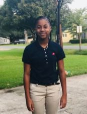 Akeelah Wade of Natchitoches Magnet won in the state cuisine category (gumbo).